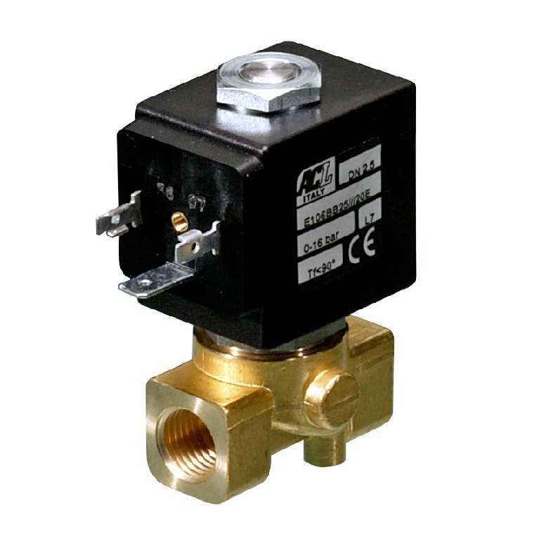 "<h4>Solenoid valves (1/8"" - 1/4"") - ACL"