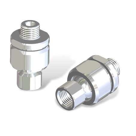 Adjustable angle coupling