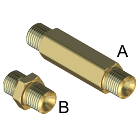 <h4>BRASS CONNECTORS
