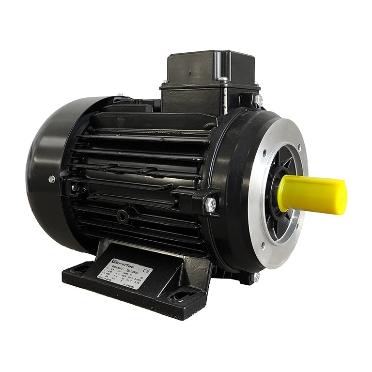 Male shaft electric motor