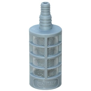 PLASTIC STRAINER WITH CHECK VALVE