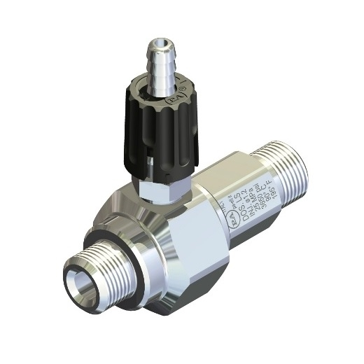 Extended adjustable chemical injector